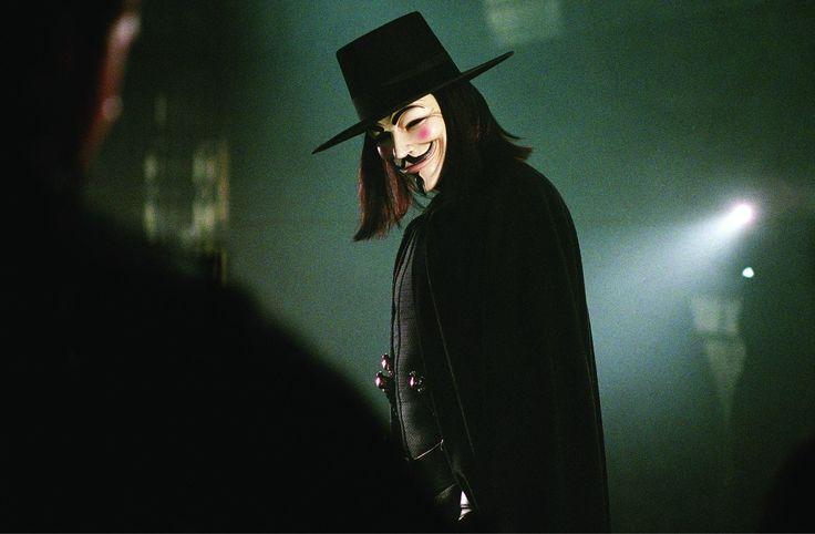 V for Vendetta - Ideas are bulletproof.