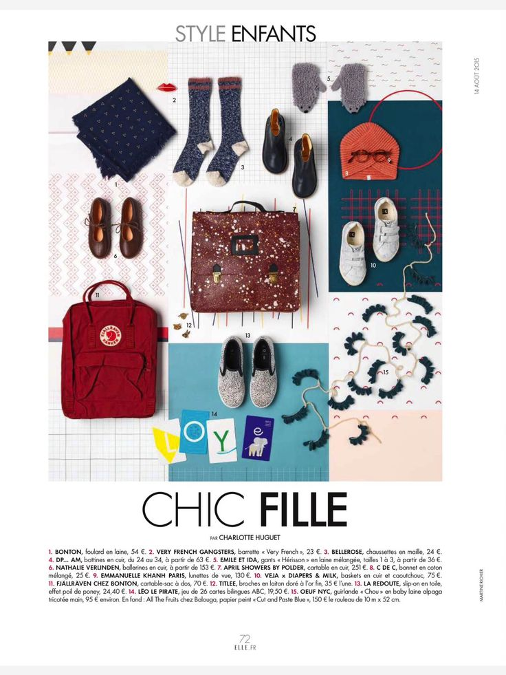 Cut&Paste Blue for Elle Deco France