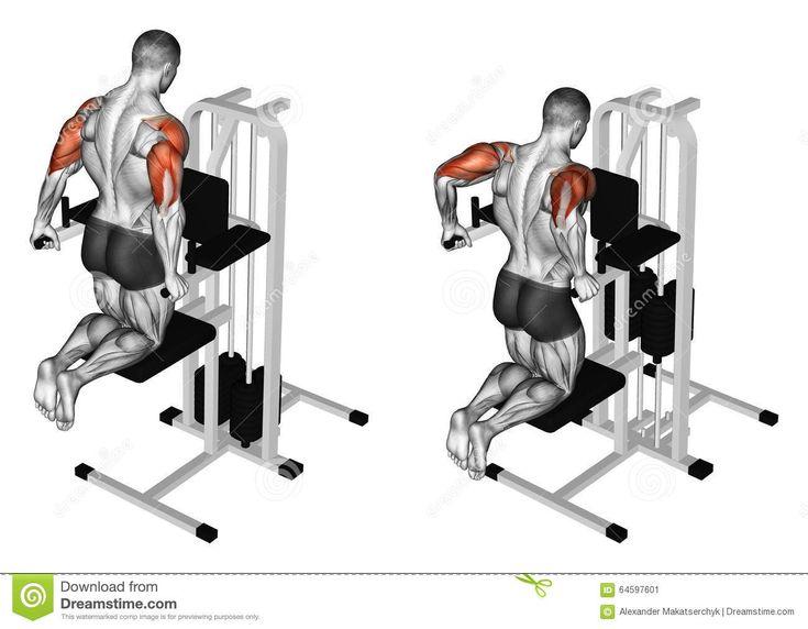 Exercising. Pulling Body In Graviton Stock Illustration - Image: 64597601