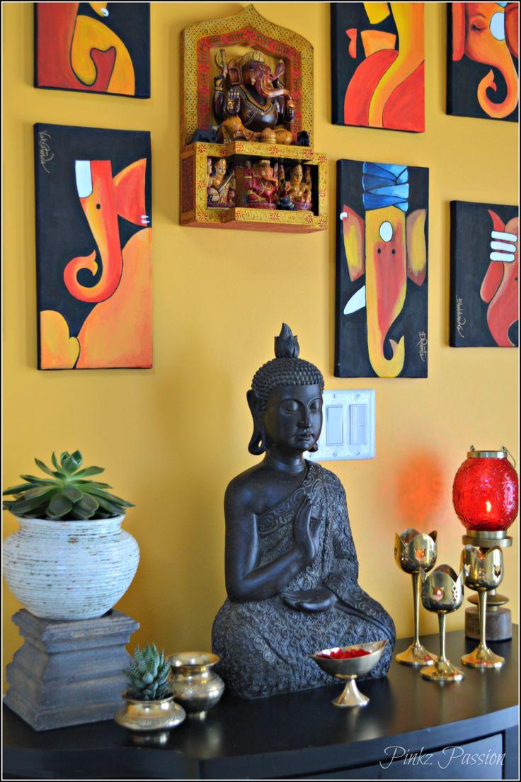 The 25 best ganesha painting ideas on pinterest ganesha for Indian foyer decorations