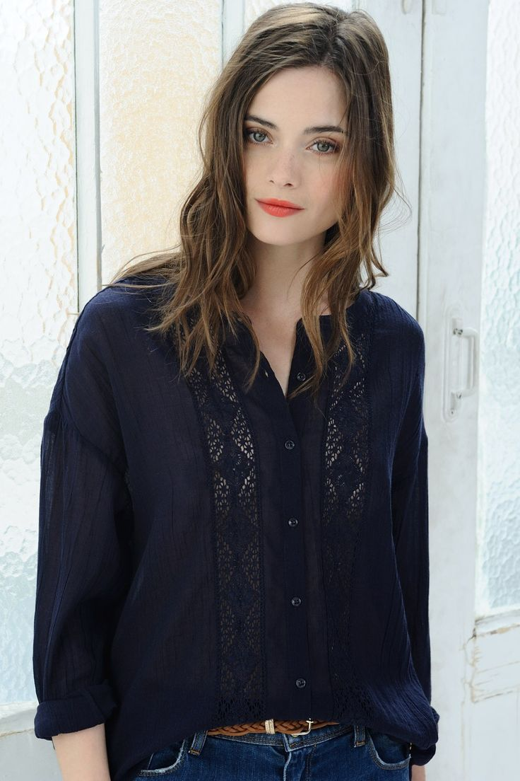 Shirt Idalou Indigo - Shirt - Des Petits Hauts 1