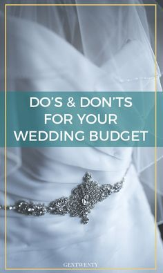 Spend? Save? DIY?  It's no secret many couples blow their wedding budget completely out of the water.  Here are just a few places for you to save vs spend on your wedding day.