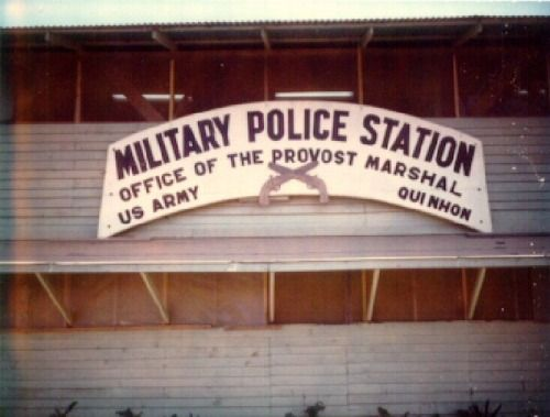 """Military Police Station; Office of the Provost Marshal; US Army, Qui Nhon"""