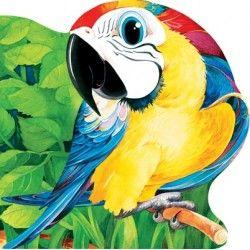 Papagalul - Editura Prut; Varsta: 6 luni+; Carticica iubita de micii copiasi pentru imaginile sale realiste si colorate frumos, nu prea strident carora li se alatura versuri de calitate, rime numai bune de recitat de mama sau de tata.