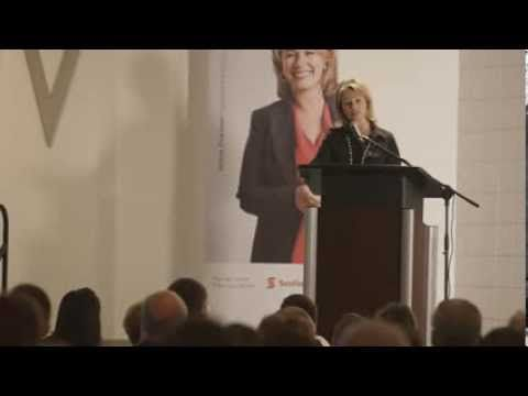 Arlene Dickinson - Small Business Week 2013 - Visit to Humboldt, Saskatchewan