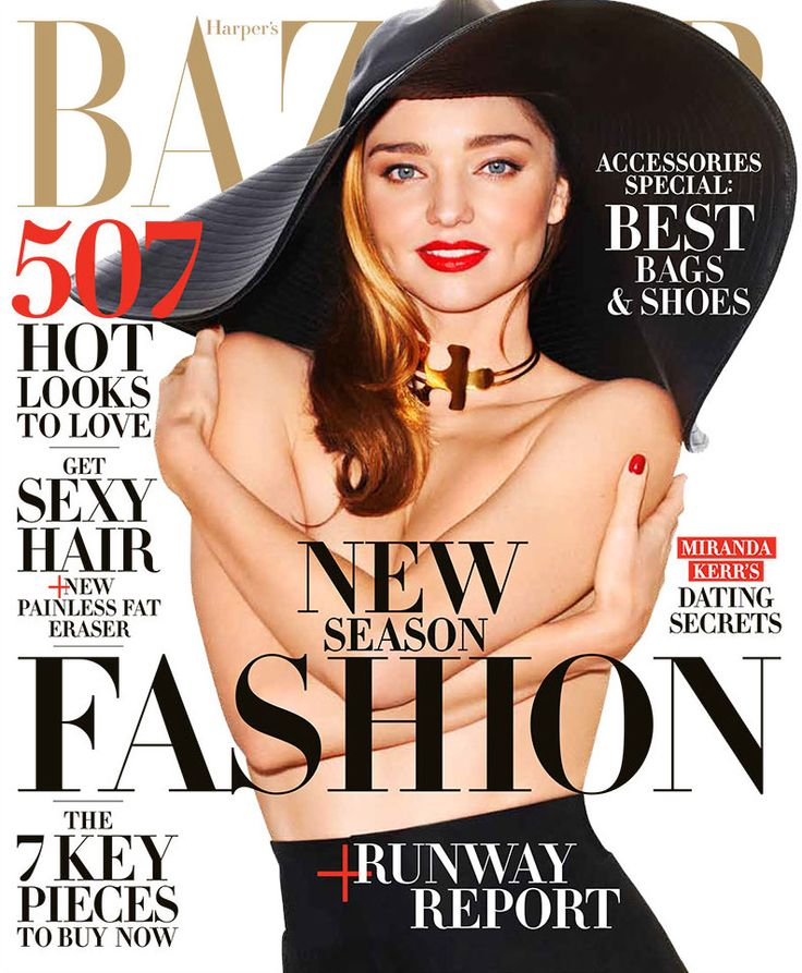 Miranda Kerr shares dating advice and more in BAZAAR's February issue. Read the full interview, here: