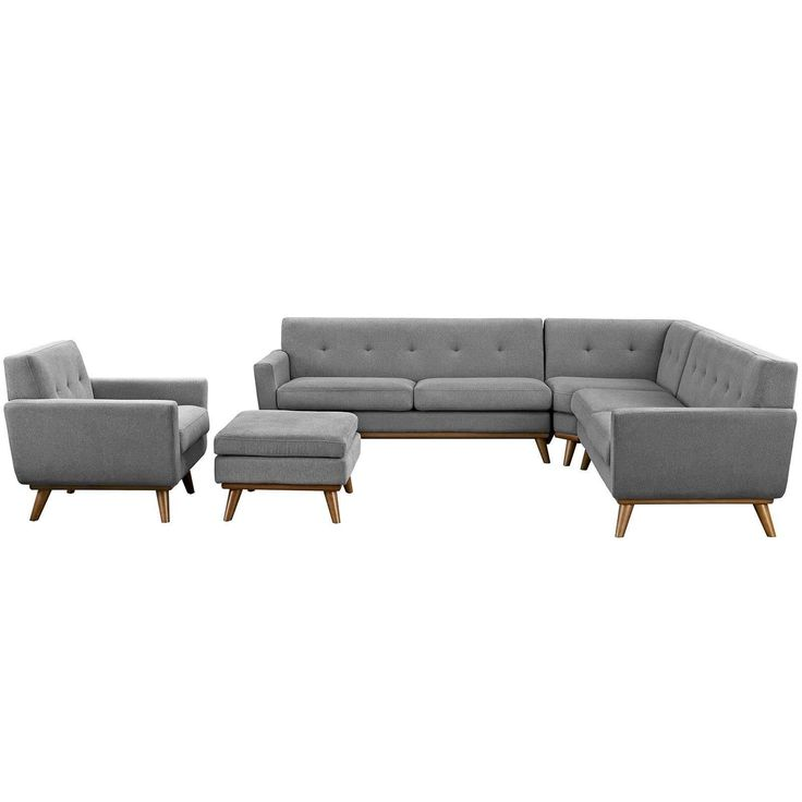 Best Engage 5 Piece Sectional Sofa Eei 2186 Living Room Sets 400 x 300