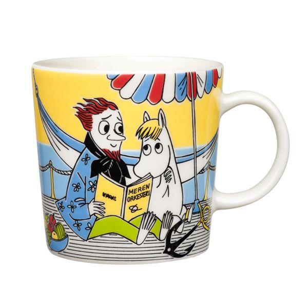 Snorkmaiden and Poet Moomin mug.