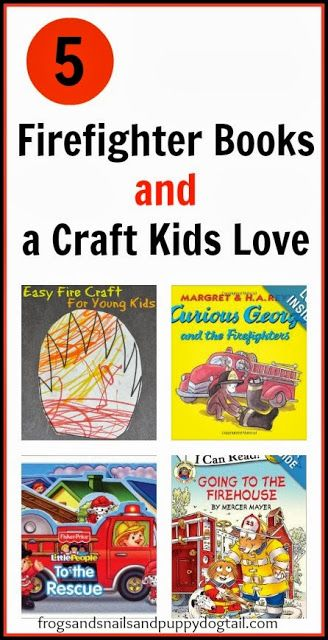 Firefighter Books and Easy Fire Craft/Coloring sheets... simple way to introduce fire safety to young kids by FSPDT