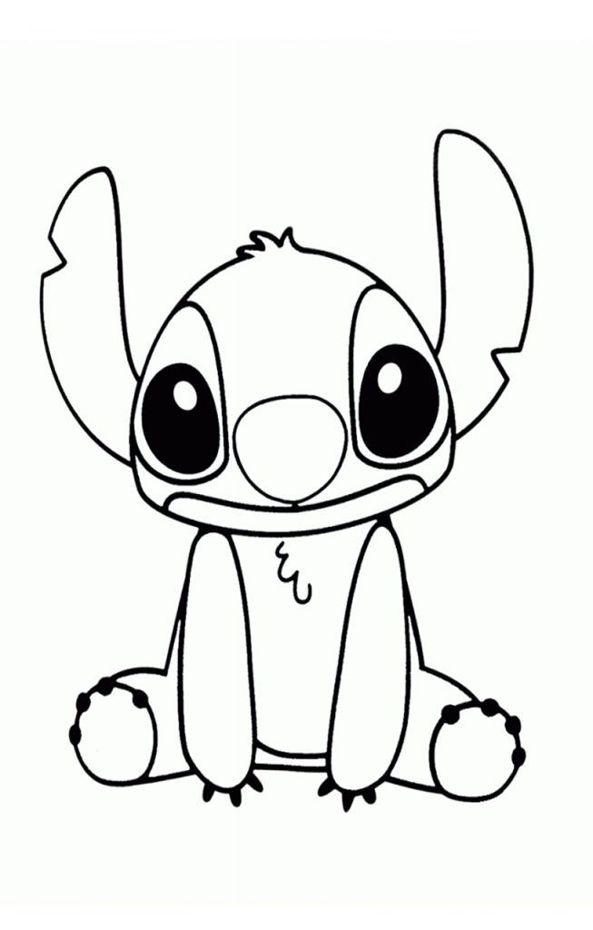 5 Free Printable Stitch Coloring Pages For Your Little Ones In
