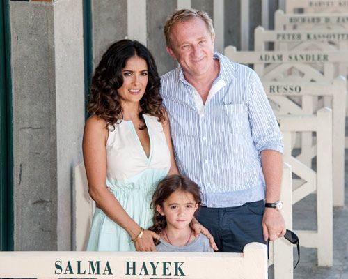 Su marido y su hija, los mayores fans de Salma Hayek - Foto 2