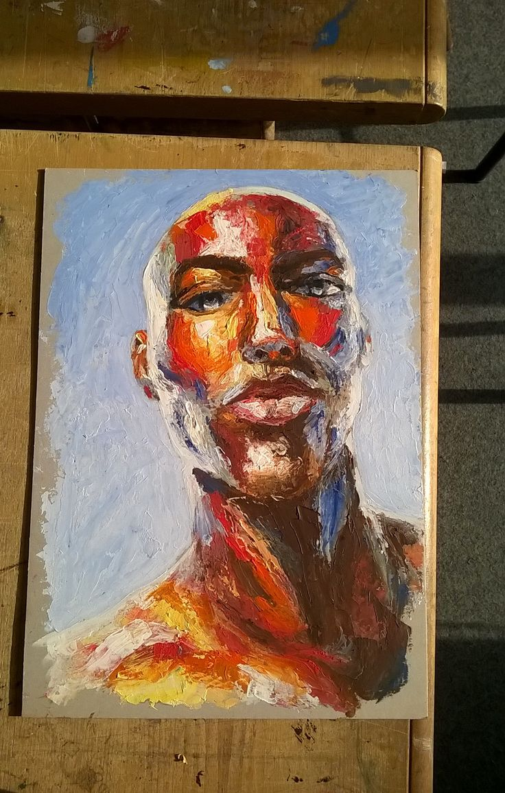 Inspired by the work of Francoise Nielly.