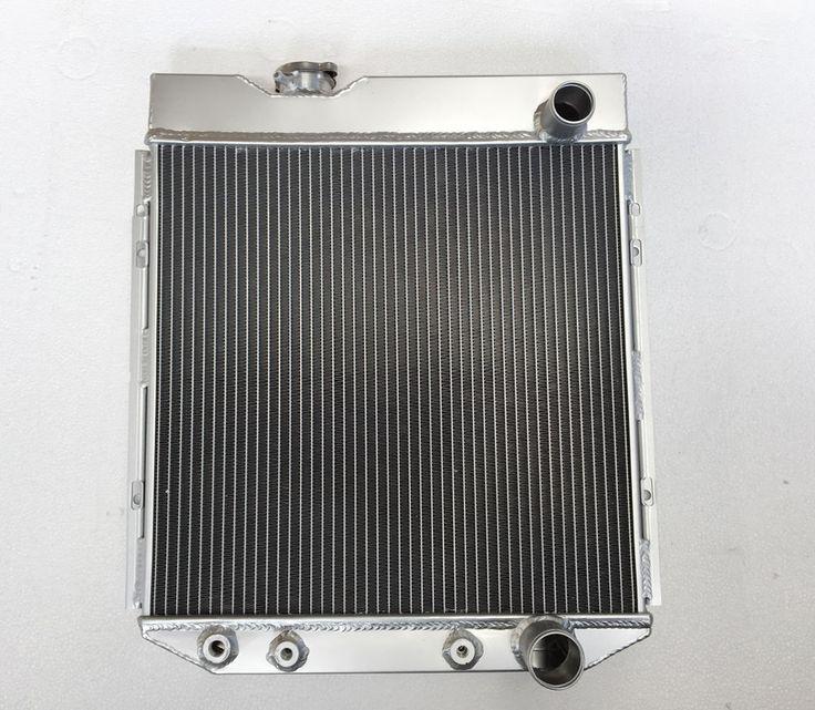 3 Row Aluminum Radiator For FALCON 63-64 MUSTANG 65-66 MERCURY COMET  V8  AT/MT #UnbrandedGeneric