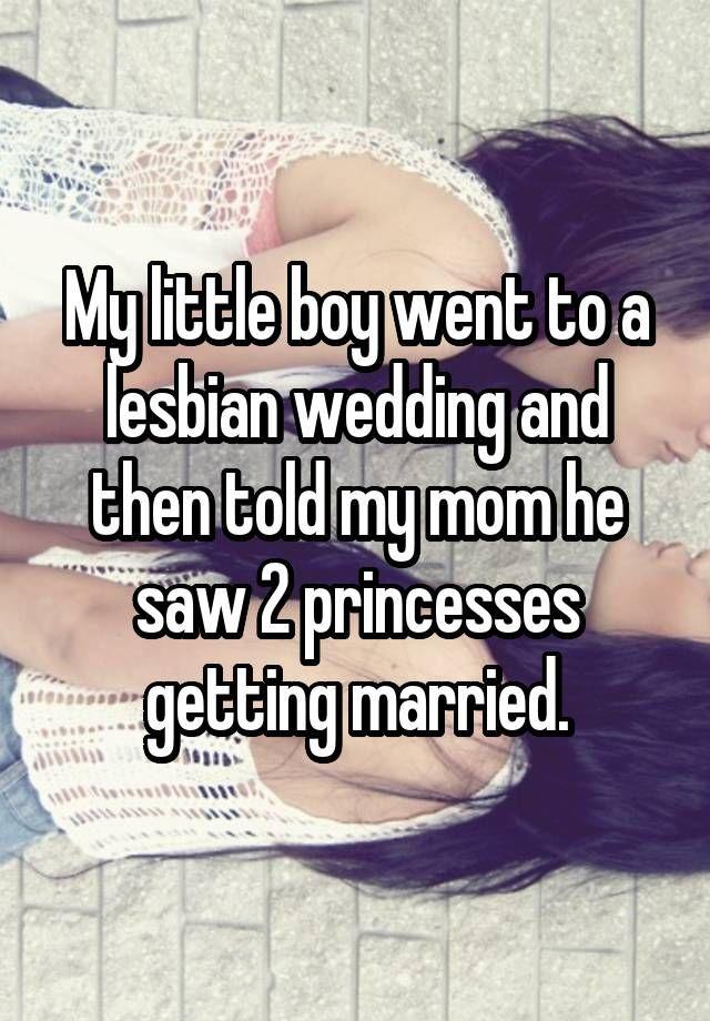 my lesbian wedding