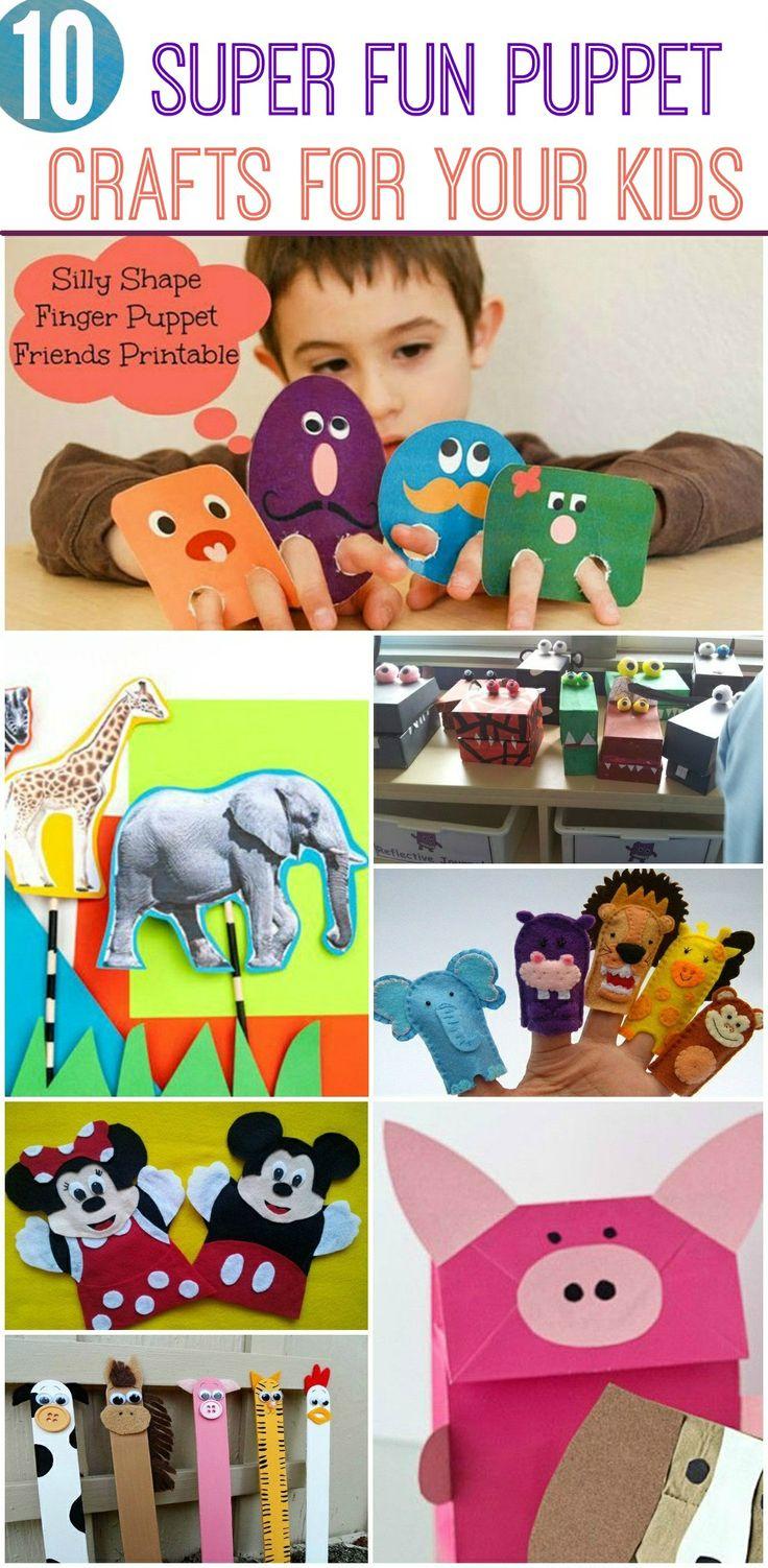 Super Fun Nail Art Ideas 2012: 17+ Best Ideas About Puppet Crafts On Pinterest