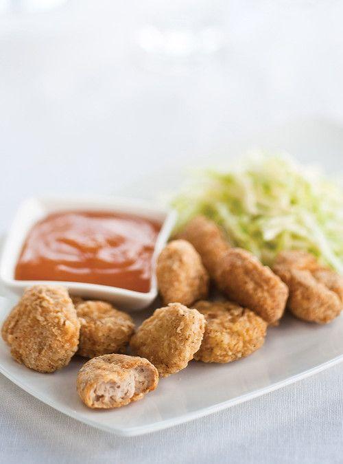 Croquettes de poulet Recettes | Ricardo