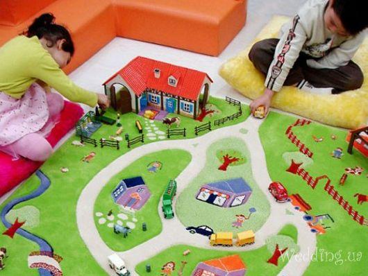 Как выбрать игровые коврики для детей
