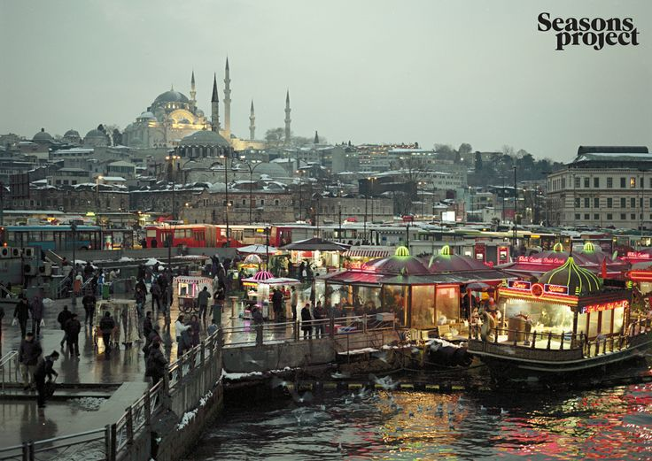 Seasons of life №8 / March-April issue. Istanbul, Turkey #seasonsproject #seasons #travel #Turkey #town #Istanbul