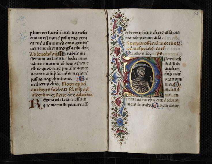 Codex Pollick (Book of Hours) by University of Victoria Libraries Via Flickr: In Latin, illuminated manuscript on parchment attributed to the Florentine illuminator Mariano del Buono di Jacopo....