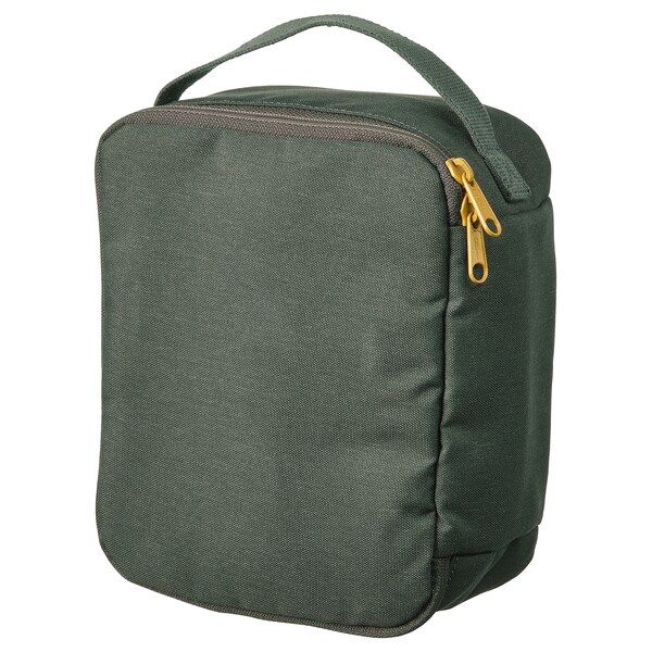 Dromsack Toiletry Bag Olive Green Ikea In 2020 Toiletry Bag Backpack Fabric Bags