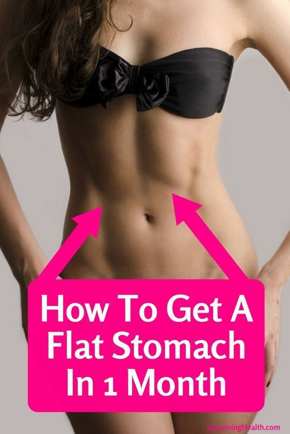 7 Simple Ways To Get A Flat Tummy In Just One Month