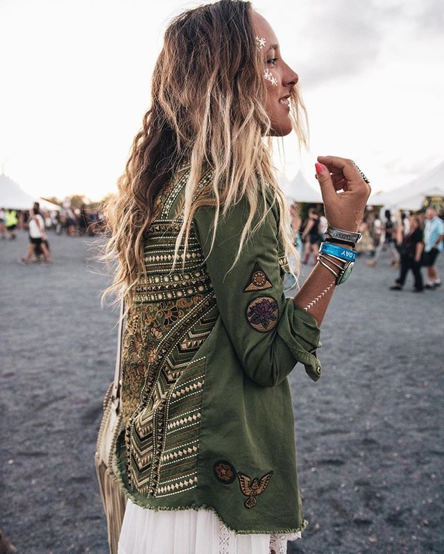 Wait List // Panther Embellished Army Jacket • Spell & The Gypsy Collective - USA