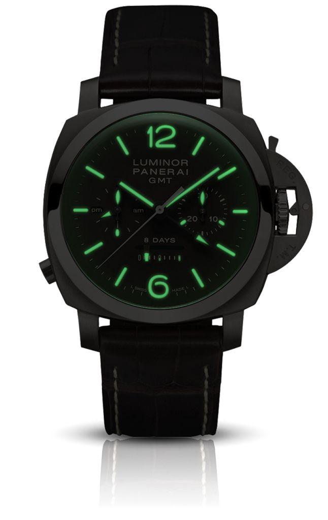 Luminor 1950 Chrono Monopulsante 8 Days GMT Titanio - 44mm - Panerai watch