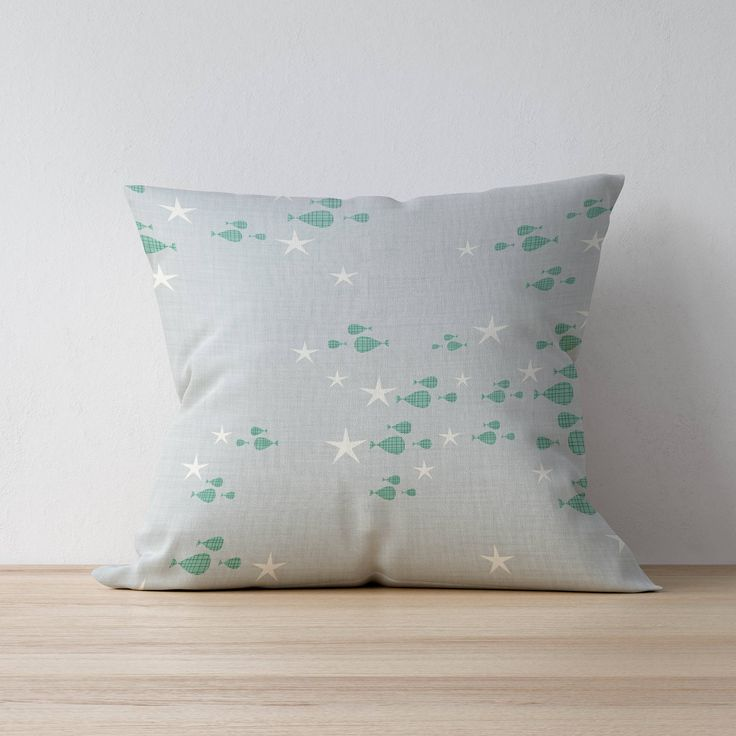 Excited to share the latest addition to my #etsy shop: Throw Pillow, Decorative pillow, Home decor, Kids Pillow Cushion, Nautical pillow, Mid Century pillow, Playroom decor, Children Room Decor http://etsy.me/2HHfsfH #housewares #pillow #gray #toddler #green #mothers