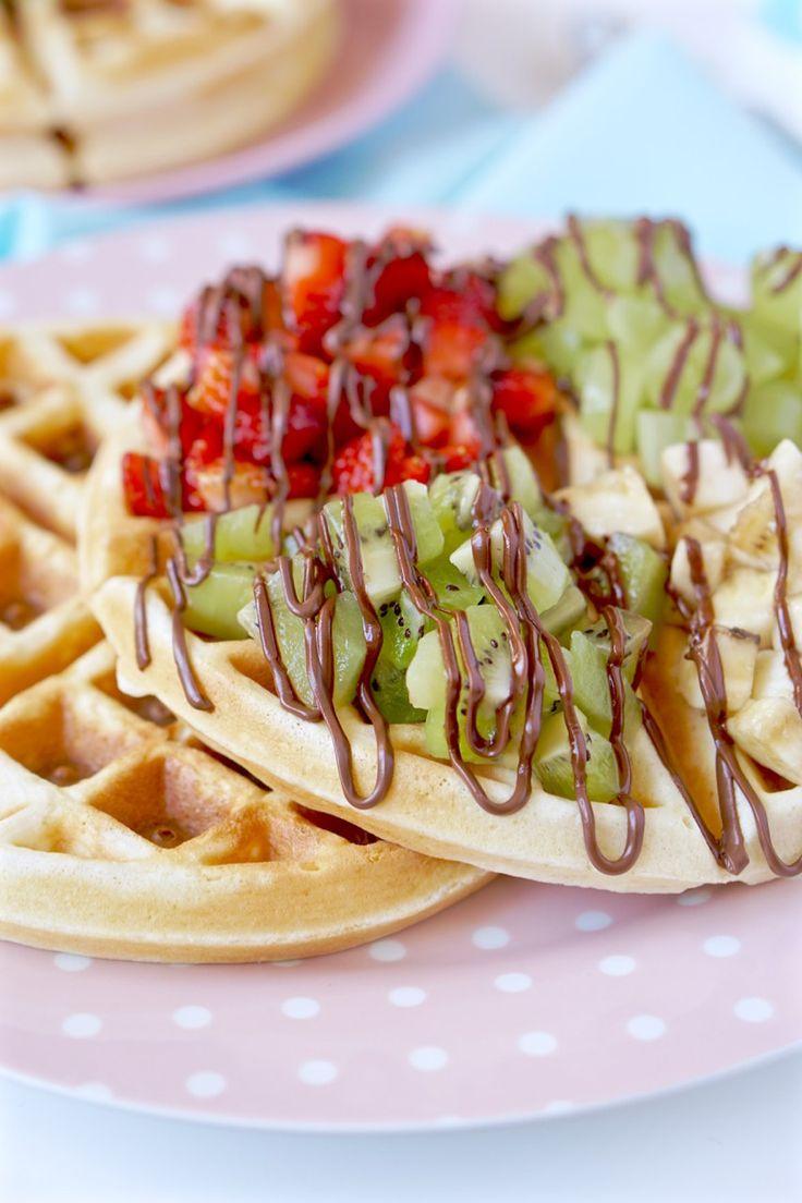 Waffles ou pancakes | Flamboesa