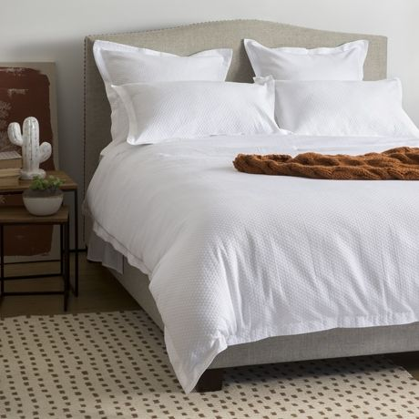 Tessa Queen Quilt Cover Set | Freedom Furniture and Homewares bedroom option classic white