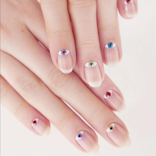Try these nail designs to get a zen look and feel.