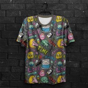 Camiseta      Hora de Aventura Fun