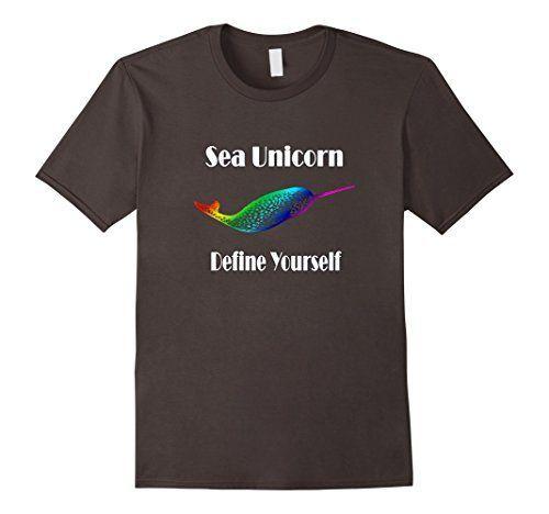 """Men's Narwhal Sea Unicorn Individuality LBGTQ Rainbow Shi  <a href=""""https //www.amazon.com/dp/B01N4WGET8/ref=cm_sw_r_pi_dp_x_OSDRyb70VGD7C"""" rel=""""nofollow"""" target=""""_blank"""">www.amazon.com/ </a>"""