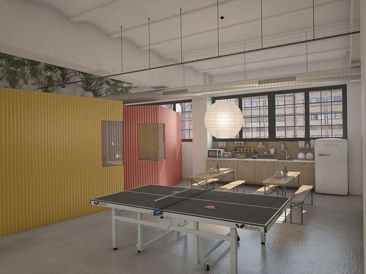 Oficinas 22@. Marzo 2016 Proyecto de oficinas en el distrito del 22@ en Poble Nou, Barcelona.  Oficinas para un estudio creativo de...