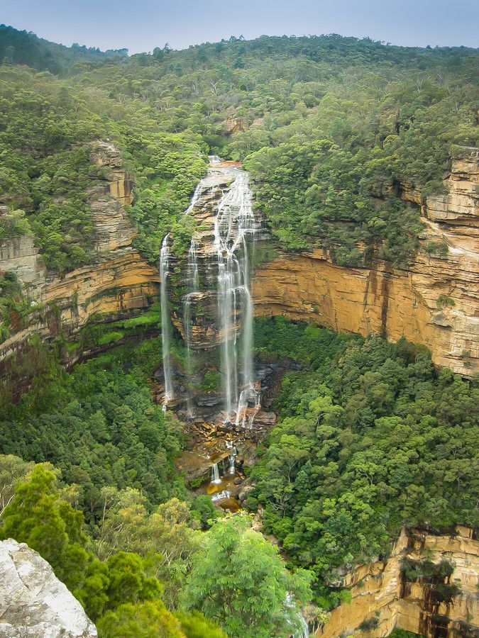 Wentworth Fall , Blue Mountains, #Australia