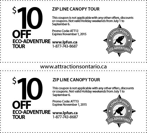 Long Point Eco-Adventures - 2015 Summer Coupon