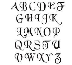 Best Writng Images On   Letter Fonts Letters And