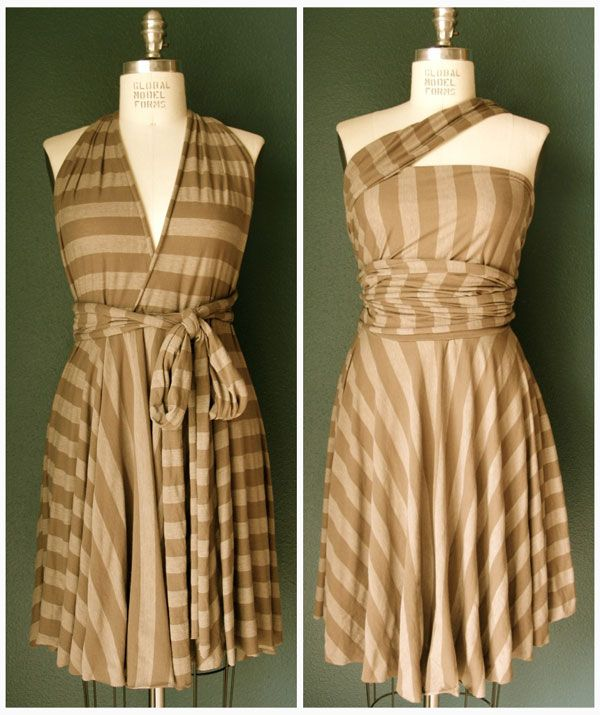 endless opportunities dress tutorial - maybe make one for Amy, same as the bridesmaids bought, but in a different fabric pattern?