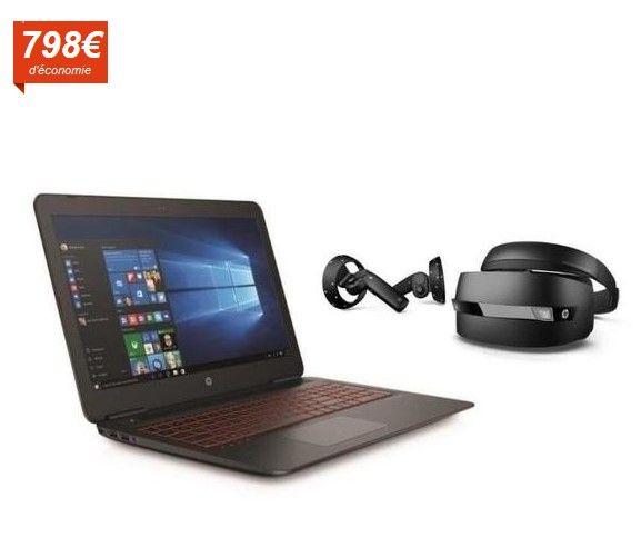 Soldes Ordinateur portable Cdiscount. Achat HP PC Portable Gamer Omen 15X241NF pas cher prix Soldes Cdiscount 799.99 € TTC au lieu de 1 598 €