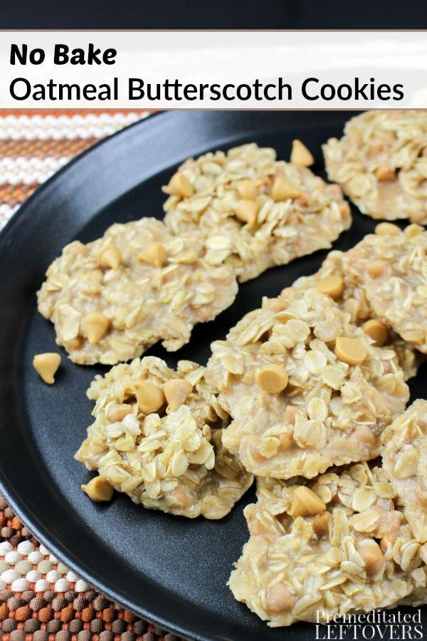 about Oatmeal Butterscotch Cookies on Pinterest | Butterscotch cookies ...
