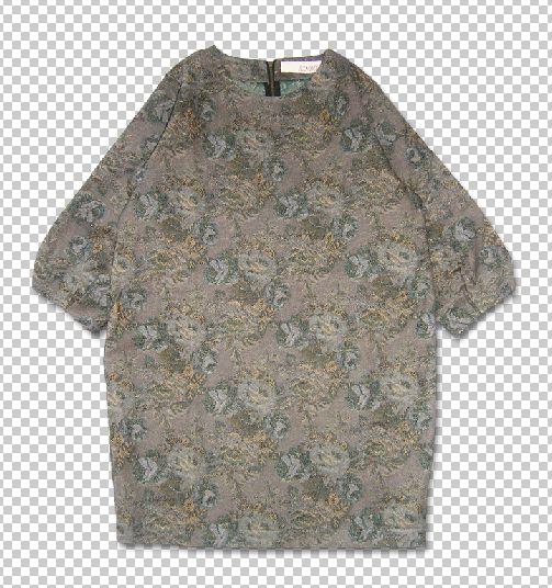 SINDEE 14A/W 「JACQUARD DRESS 」