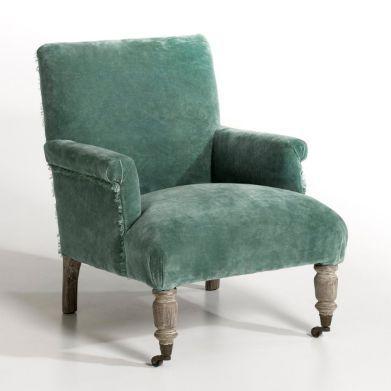 Petit fauteuil bouba velours am pm wish list pinterest - Petit fauteuil velours ...