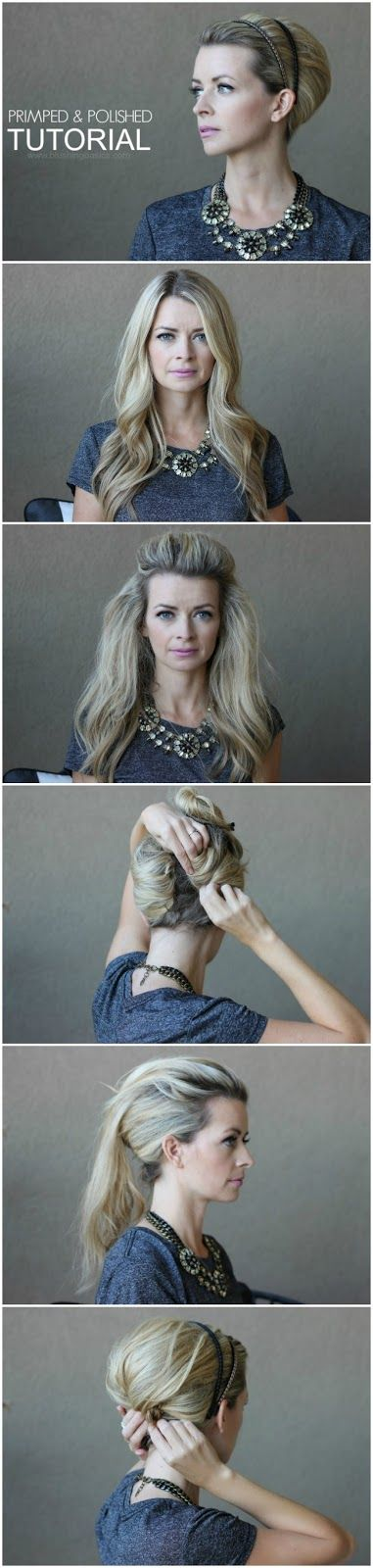 Primped & Polished Hair Tutorial + TRESemmé Transformation Sweepstakes