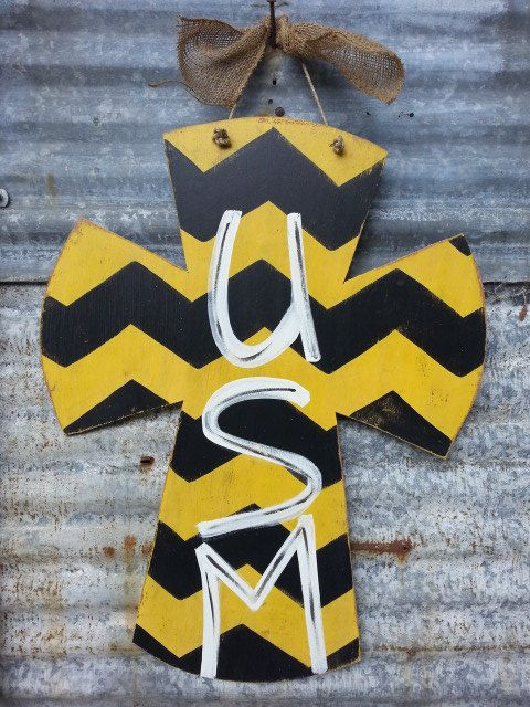 Hey, I found this really awesome Etsy listing at http://www.etsy.com/listing/158263025/university-of-southern-mississippi-usm-x