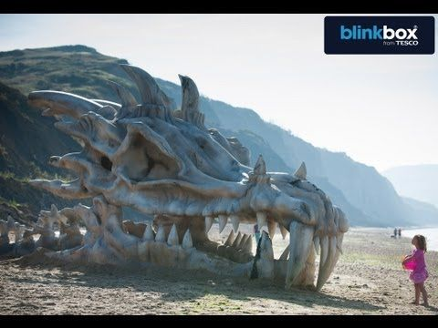 Beachgoers on a Dorset beach were in for quite a jolt earlier this week as they encountered what appeared to be the remains of a giant dragon. In reality, it's a sculpture put together by Blinkbox to promote the third season of Game of Thrones which is arriving to the service.