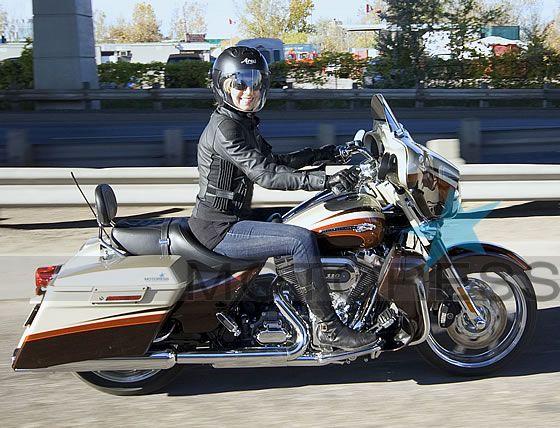 Test Riding The Big Touring Harley Davidson Cvo