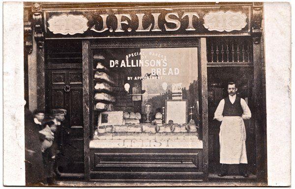 J F List Bakers Shop 418 Bethnal Green Rd Philip Mernick S East London Shopfronts Thegentleauthor Spitalfieldsli East London Bethnal Green Victorian London