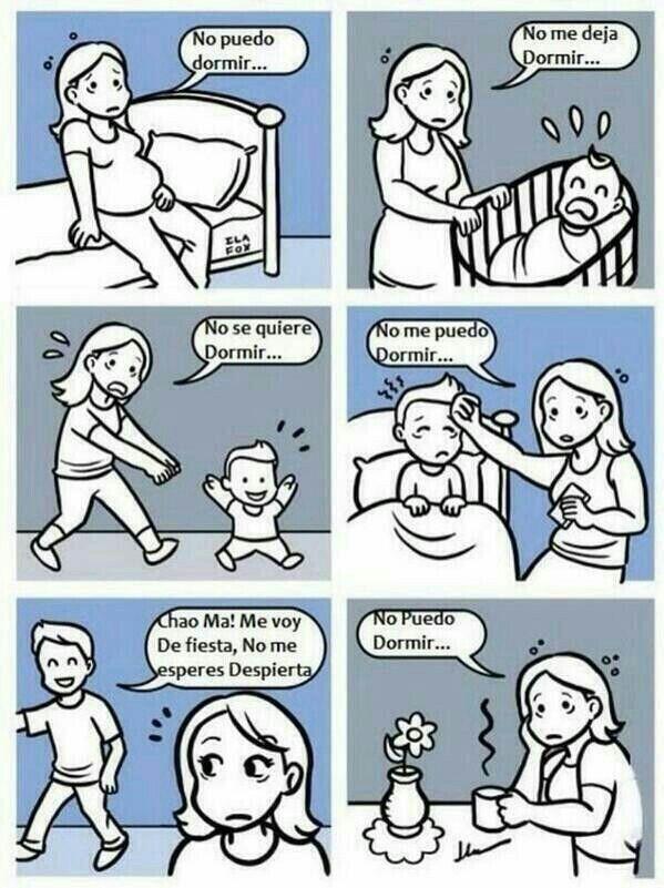 Las madres no duermen