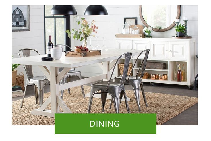 #Home #Decor #Informal #Dining #Set #Buffet with open storage shelves #Rugs #Carpets #Mirrors #Chairs #Whites #Beiges #Ideas