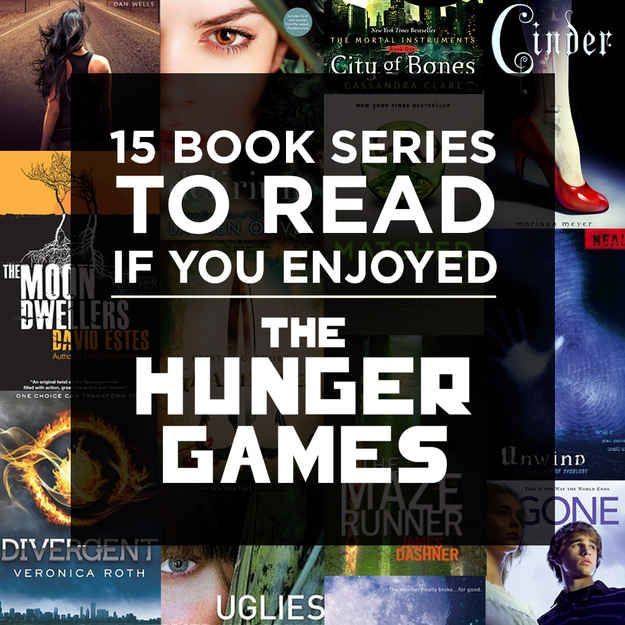 "15 Book Series To Read If You Enjoyed ""The Hunger Games"" - BuzzFeed Mobile"